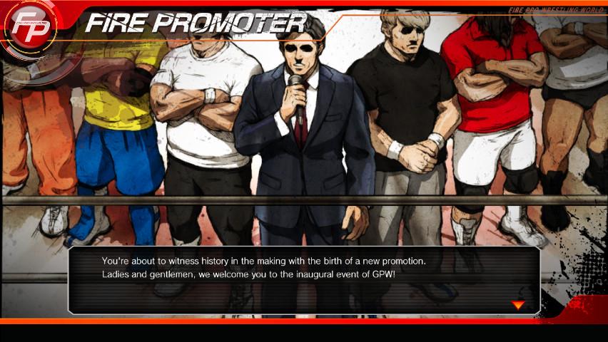 fire pro wrestling world fire promoter manual