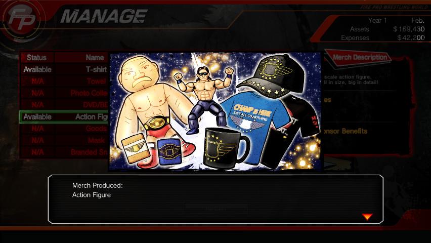 Fire Pro Wrestling World - Fire Promoter