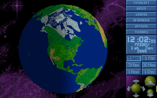 скриншот X-COM: UFO Defense 0