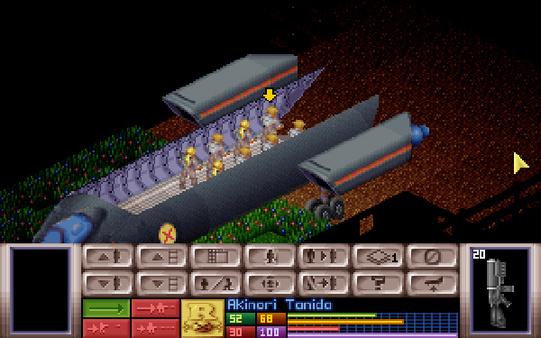 скриншот X-COM: UFO Defense 5