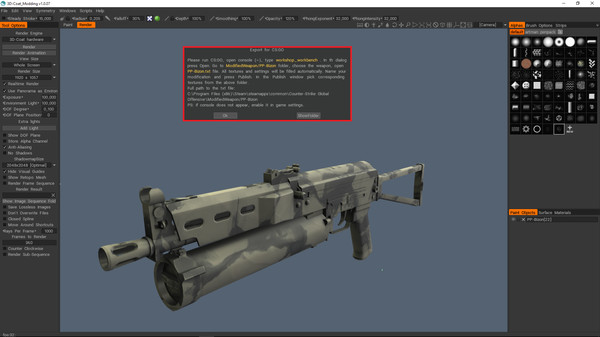 3DCoat Modding Tool