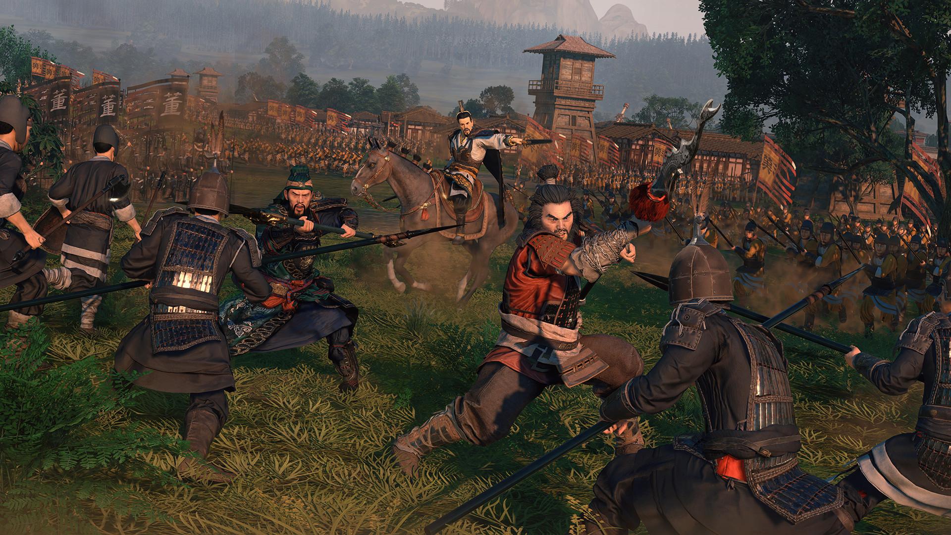 Скриншот Total War Three Kingdoms v1.1.0 + 2 DLC скачать торрент бесплатно