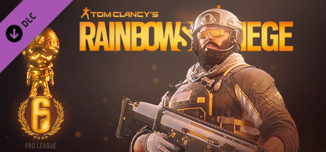 Rainbow Six Siege - Pro League Blackbeard Set