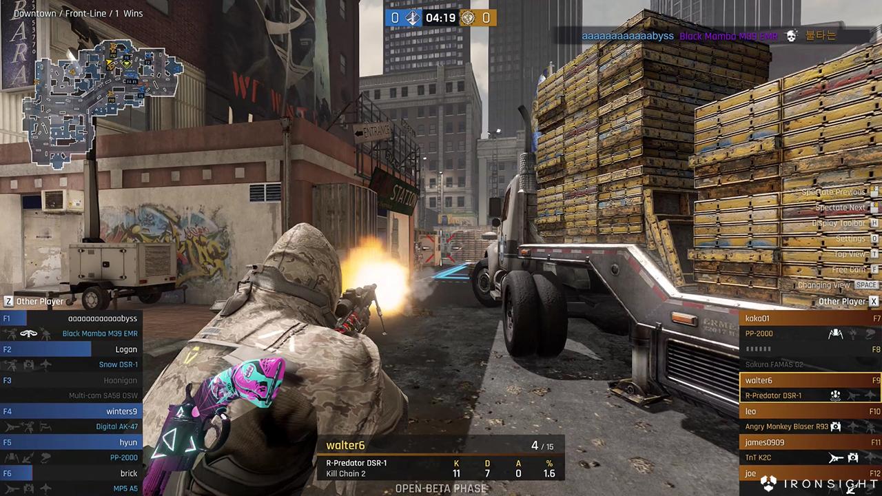 Ironsight Asia (Pre-OBT ver ) på Steam
