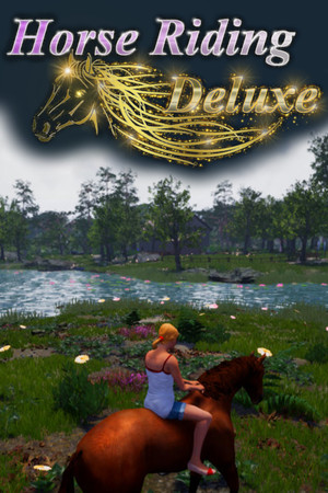 Horse Riding Deluxe poster image on Steam Backlog