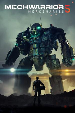 MechWarrior 5: Mercenaries poster image on Steam Backlog