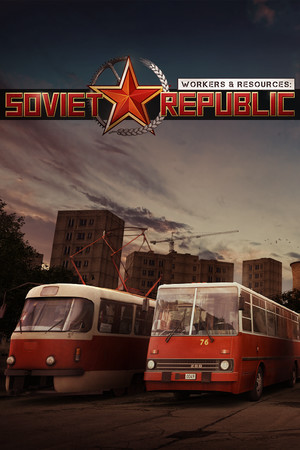 Workers & Resources: Soviet Republic poster image on Steam Backlog