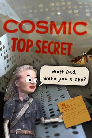 Cosmic Top Secret poster image on Steam Backlog
