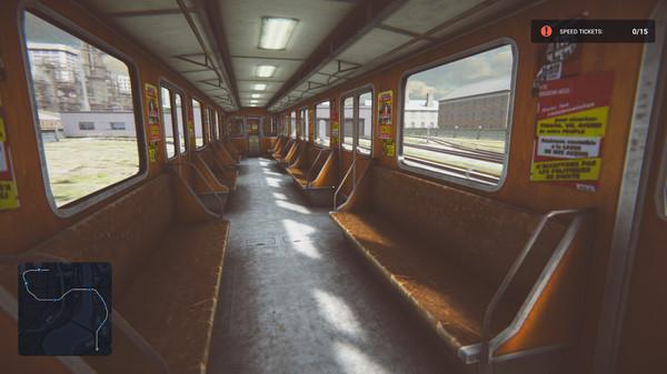 Capture d'écran n°2 du Jeu Subway Simulator