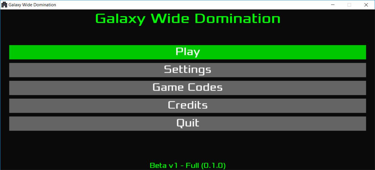 Galaxy Wide Domination