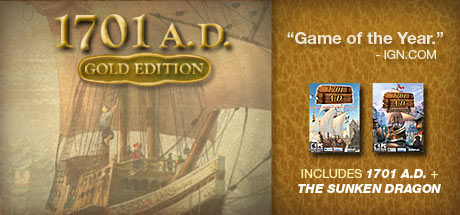 1701 A.D.: Gold Edition