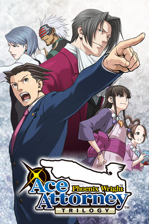 Phoenix Wright: Ace Attorney Trilogy poster image on Steam Backlog