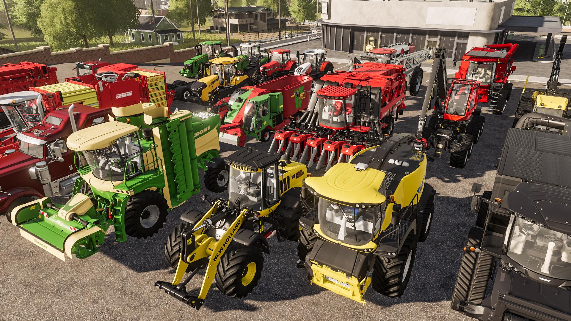 Farming Simulator 19 [2018 Rus Eng Multi18]