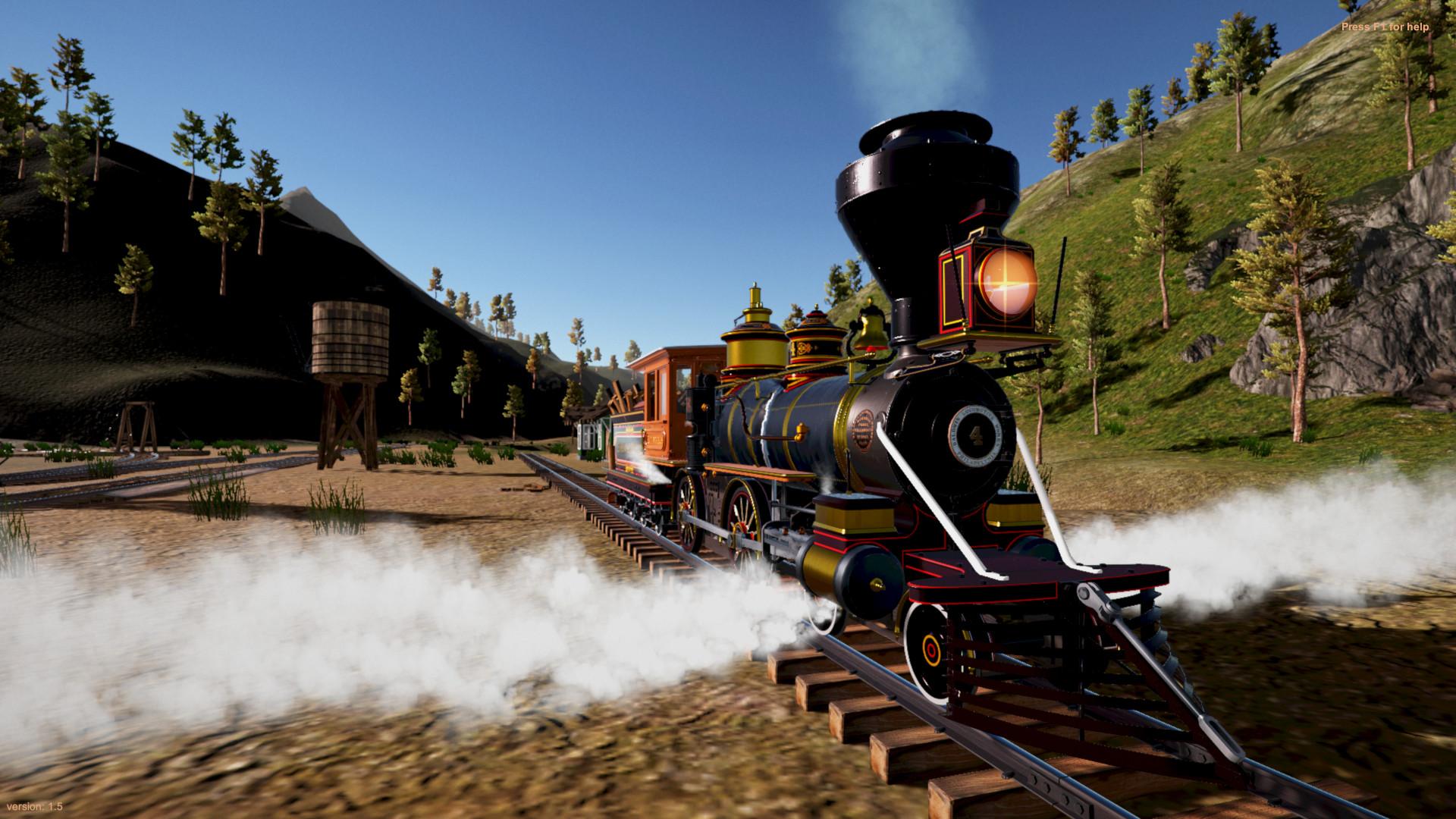 American Railroads - Summit River & Pine Valley on Steam