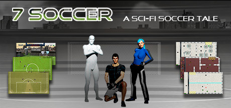 View 7 Soccer: a sci-fi soccer tale on IsThereAnyDeal