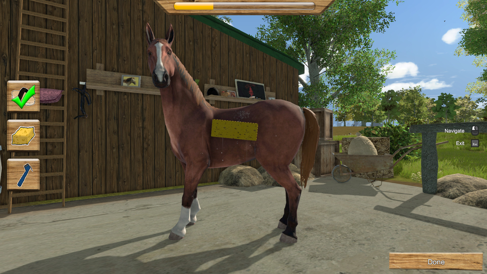 my riding stables life with horses trailer