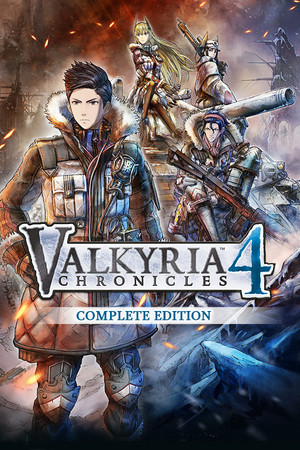 Valkyria Chronicles 4 Complete Edition poster image on Steam Backlog