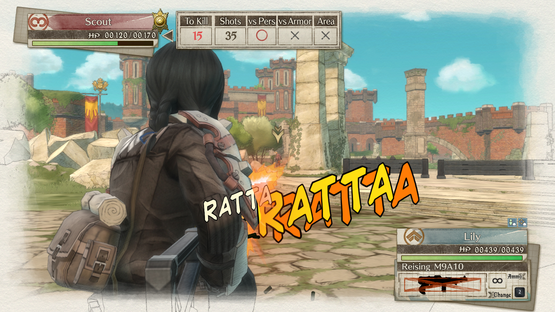 Valkyria Chronicles 4 Screenshot 3