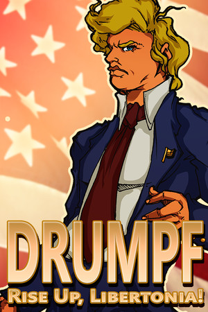 Drumpf: Rise Up, Libertonia! poster image on Steam Backlog