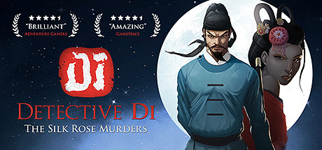Detective Di: The Silk Rose Murders cover art
