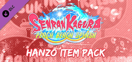 SENRAN KAGURA Peach Beach Splash - Hanzō Item Pack