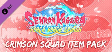 SENRAN KAGURA Peach Beach Splash - Crimson Squad Item Pack