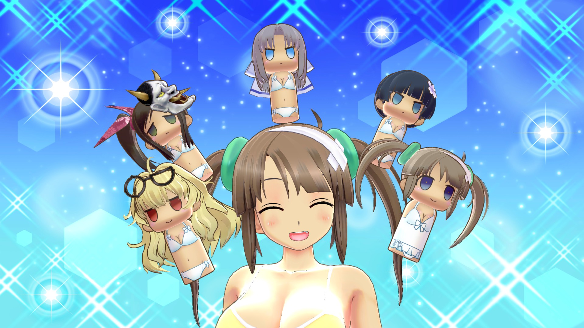 Save 50 On Senran Kagura Peach Beach Splash Gessen Item Pack On Steam