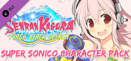 SENRAN KAGURA Peach Beach Splash - Super Sonico Character Pack