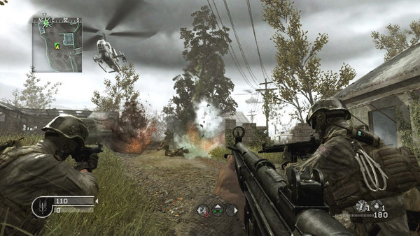 скриншот Call of Duty 4: Modern Warfare 2
