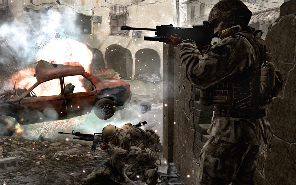 скачать call of duty 4 multiplayer 17 rus