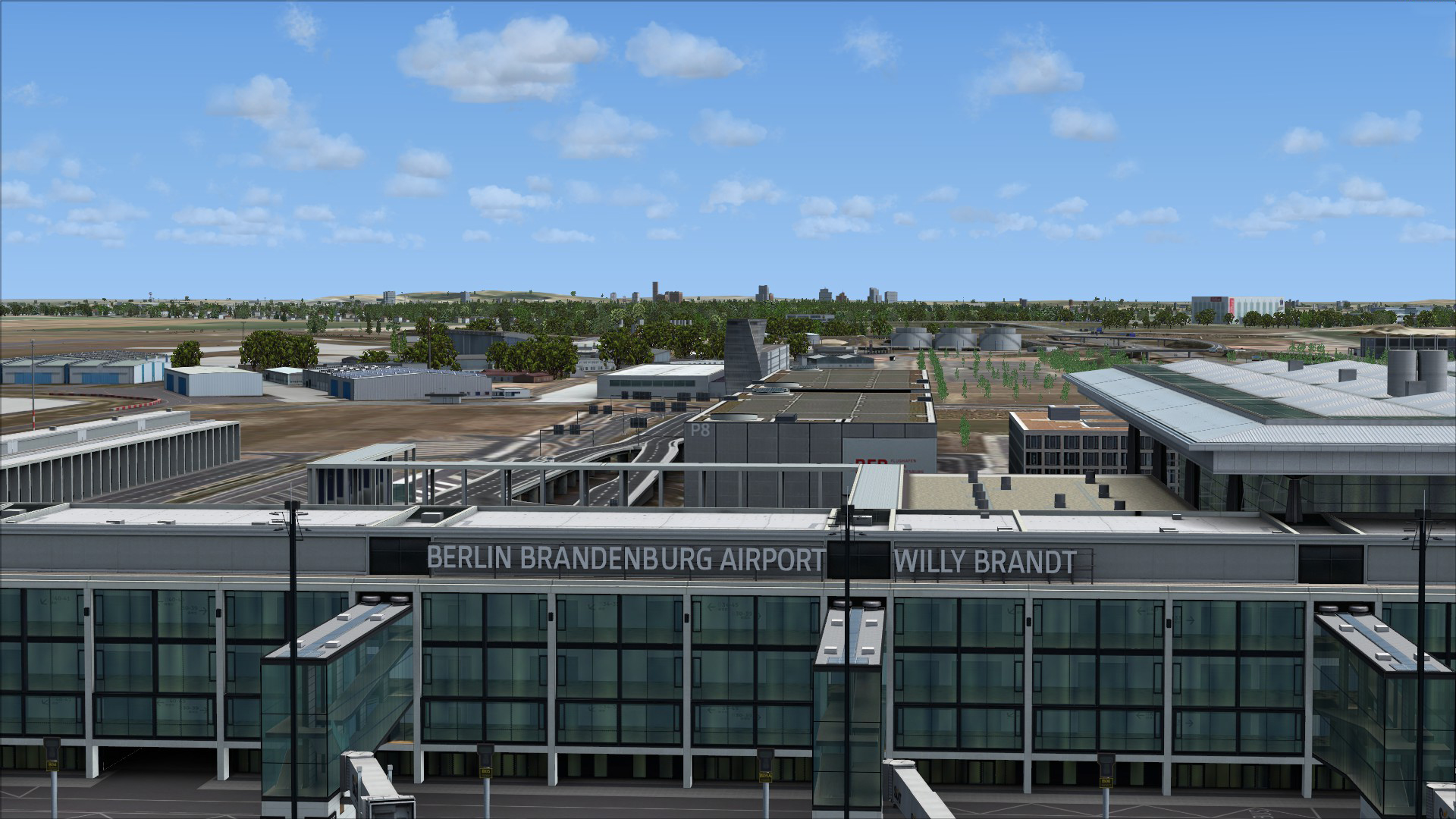 FSX Steam Edition: Mega Airport Berlin Brandenburg Add-On