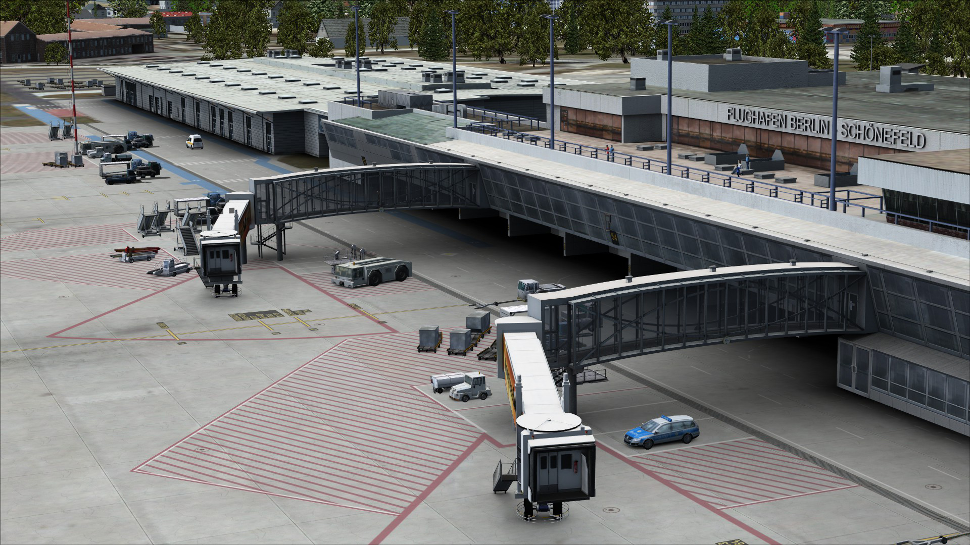 FSX Steam Edition: Mega Airport Berlin Brandenburg Add-On