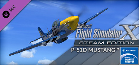 FSX Steam Edition: P-51D Mustang Add-On