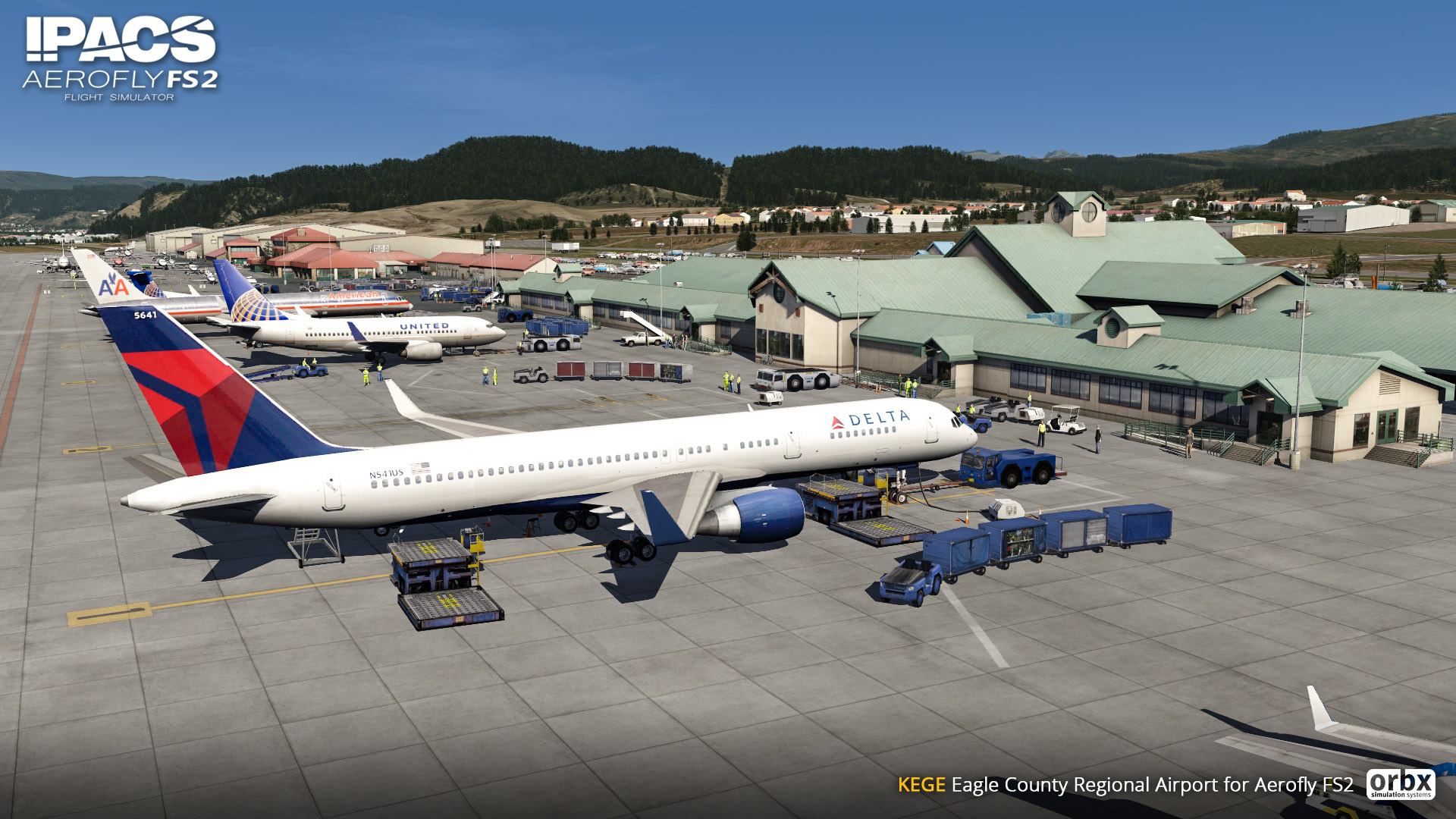 Aerofly FS 2 - Orbx - Eagle County Colorado