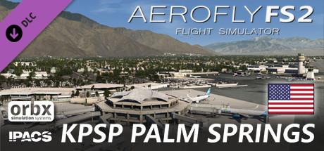 Aerofly FS 2 - Orbx - Palm Springs International Airport