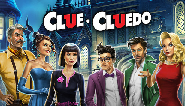 Hasbro CLUEDO Classic Murder Mystery Family Board Game and clue cards