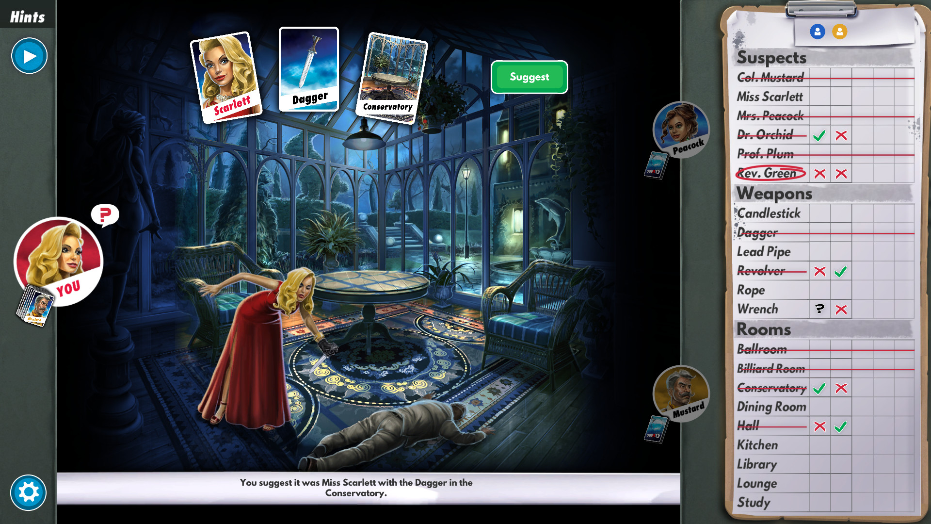 Clue/Cluedo: The Classic Mystery Game Steam Discovery
