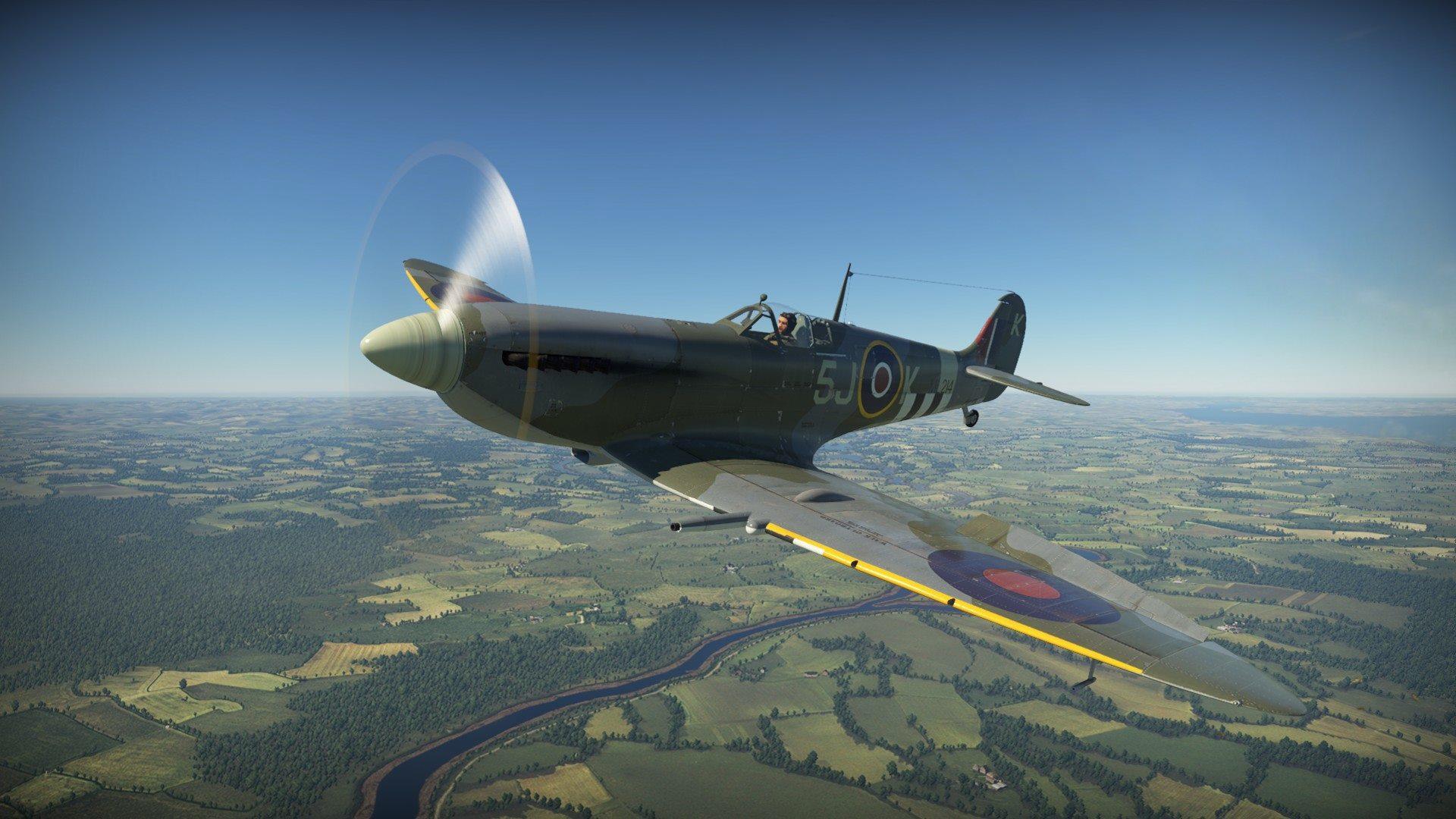 War Thunder Plagis Spitfire Lf Mk Ix