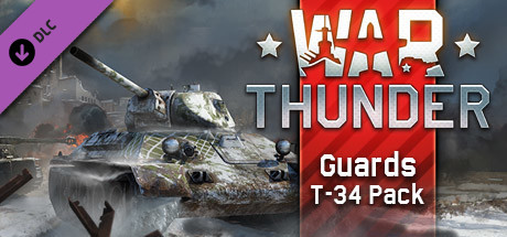 War Thunder - Guards T-34 Pack