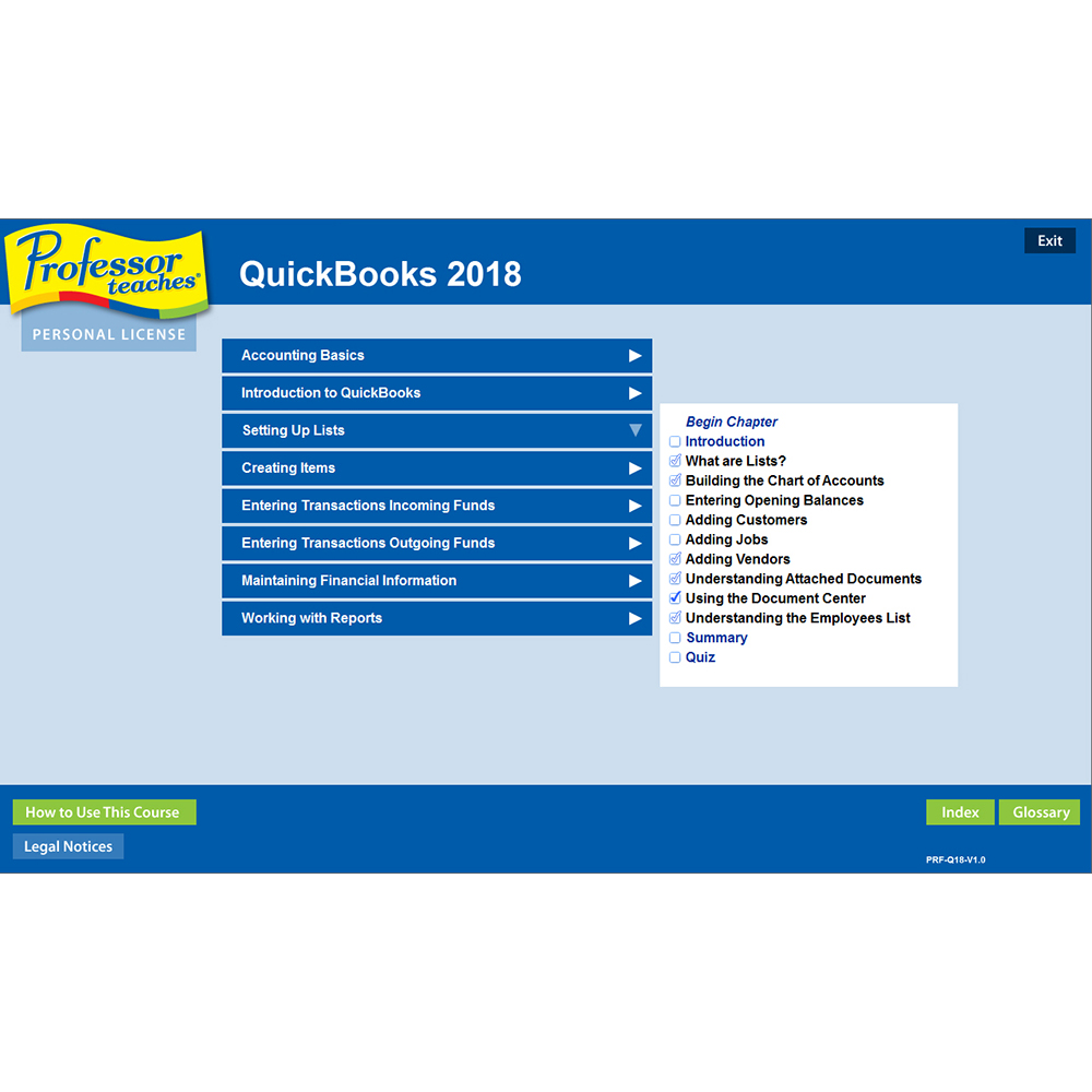 Professor Teaches QuickBooks 2018