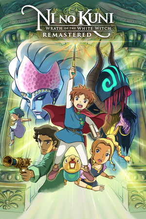 Ni no Kuni Wrath of the White Witch Remastered poster image on Steam Backlog