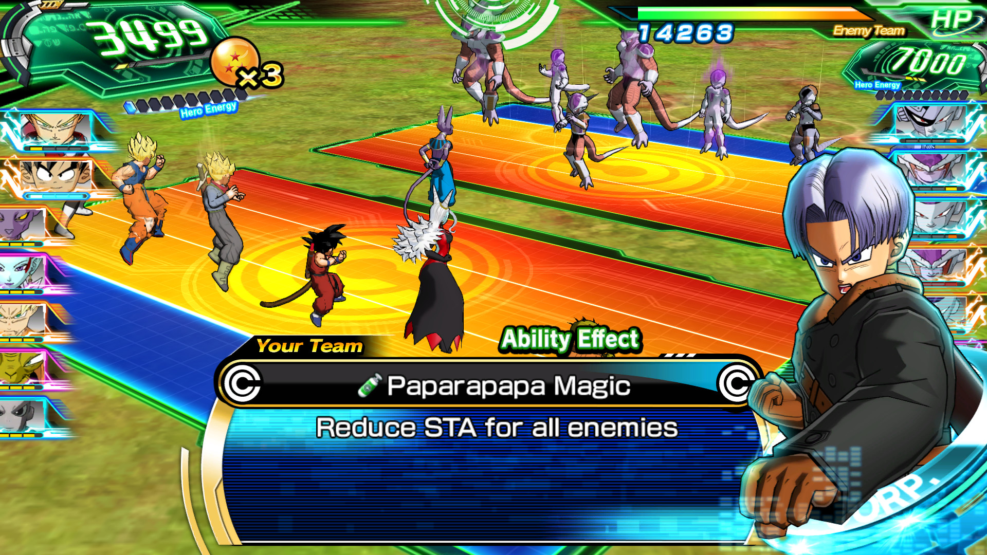 Super Dragon Ball Heroes: World Mission Screenshot 1