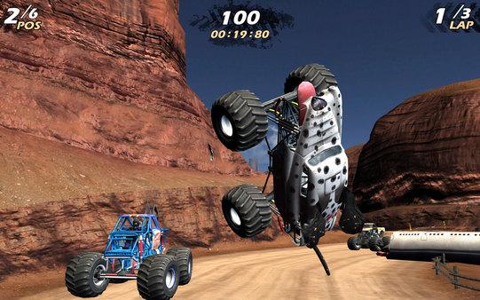 Скриншот из Monster Jam