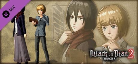 Mikasa & Armin Plain clothes Outfit Early Release