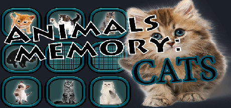 Teaser image for Animals Memory: Cats