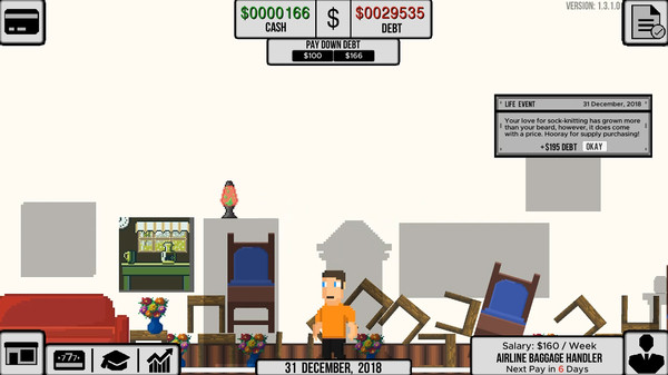 Life and Debt: A Real Life Simulator System Requirements - Can I Run