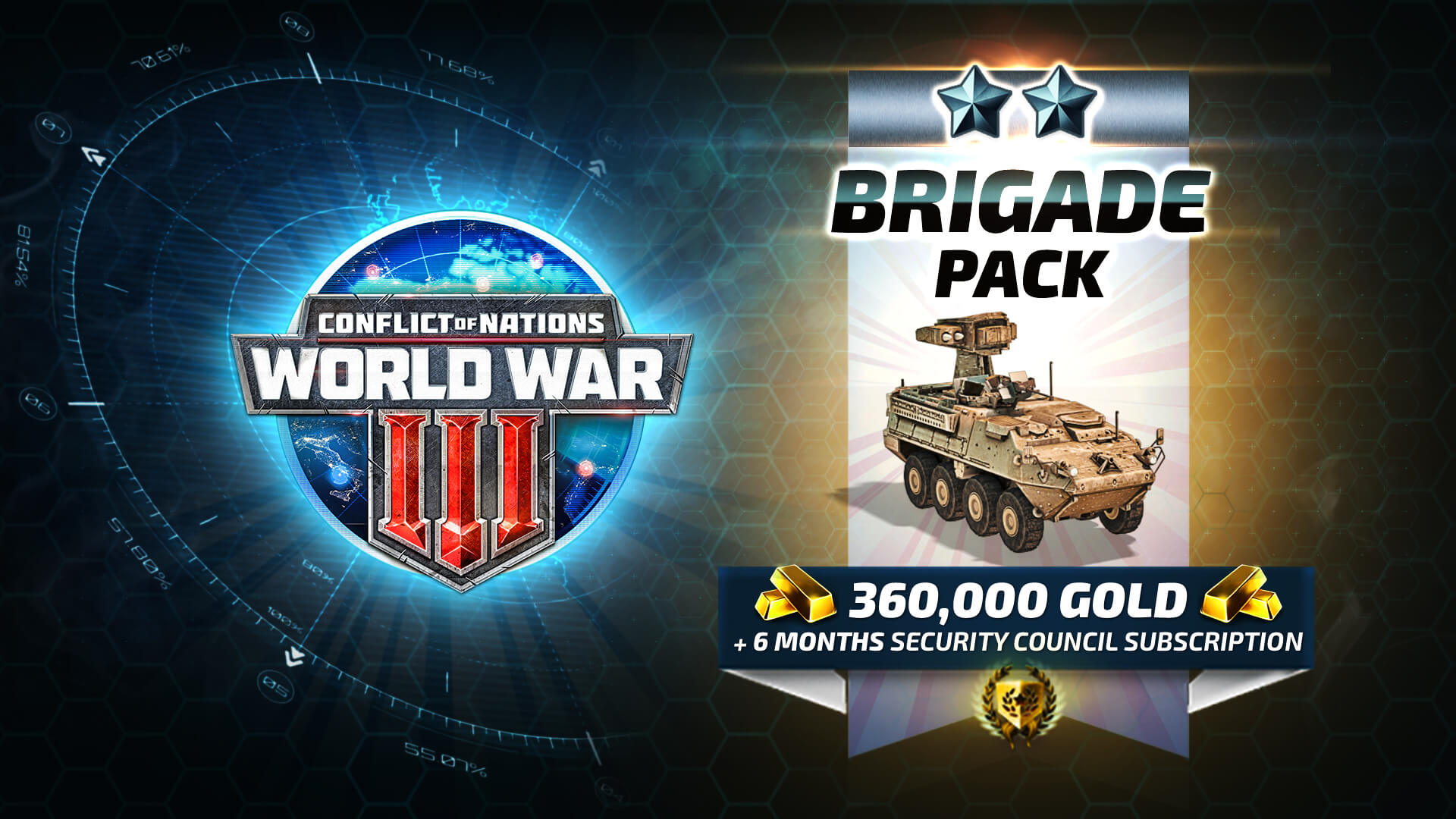 Conflict of Nations: Modern War - Brigade Pack 2018 pc game Img-2