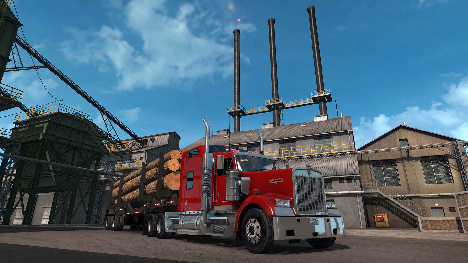 save 30 on american truck simulator oregon on steam. Black Bedroom Furniture Sets. Home Design Ideas