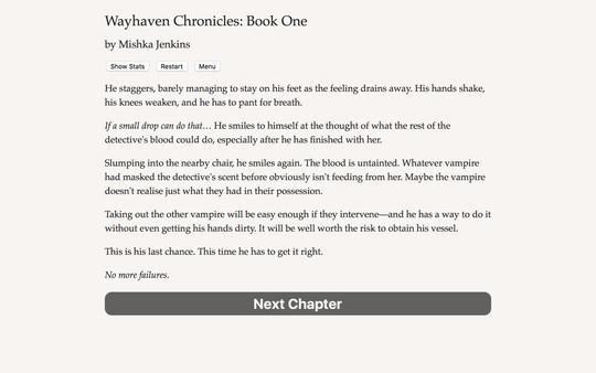 Screenshot of Wayhaven Chronicles: Book One