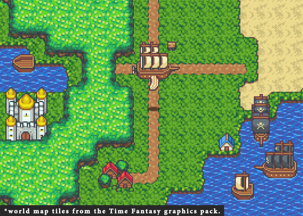 RPG Maker MV - Time Fantasy Ship Steam Discovery